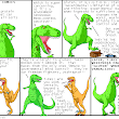 Dinosaur Comics - September 20th, 2012 - awesome fun times!