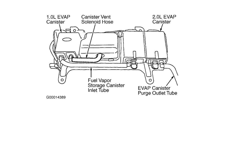 34 2002 Ford Escape Vacuum Hose Diagram