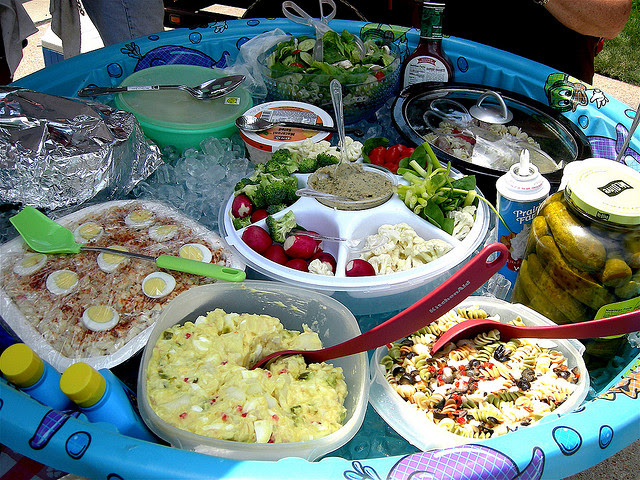Cool Pool Party Food Ideas