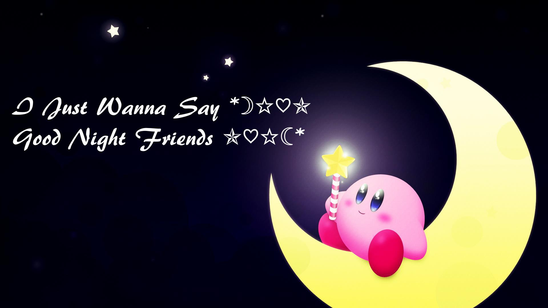Download Good Night Friend Quote Good Night Wallpaper For Your