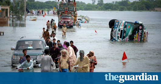 Climate change: 'human fingerprint' found on global extreme weather | Environment | The Guardian