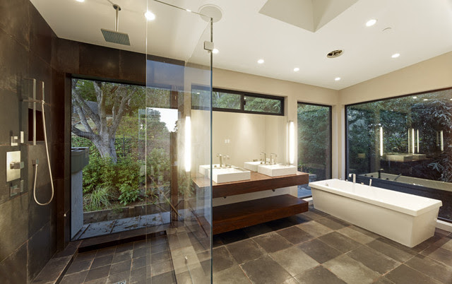 Mill Valley Contemporary MASTER BATH - modern - bathroom - san ...