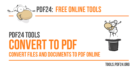 Convert files online to PDF