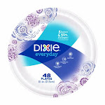 Georgia Pacific 215843 8.5 in Dixie Everyday Paper Plates - Pack of 48