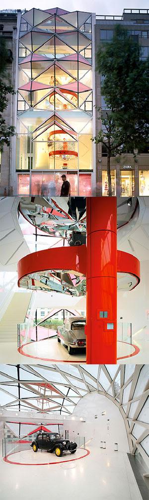 New Citroën Showroom in Paris