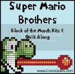 Cora's Quilts Super Mario Brothers QA + BOM Club