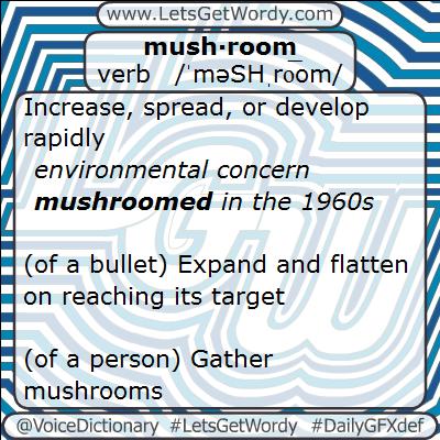 Mushroom 01/31/2013 GFX Definition of the Day