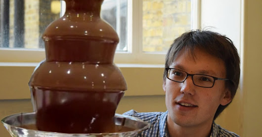 Someone finally looked into the physics of chocolate fountains