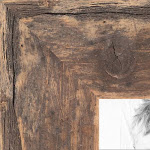 15x20 Real Reclaimed Light Brown Barnwood Wood Picture Poster Frame for 20x15 Photo 2WOM-RFB-150-TOB-15x20 by ArtToFrames
