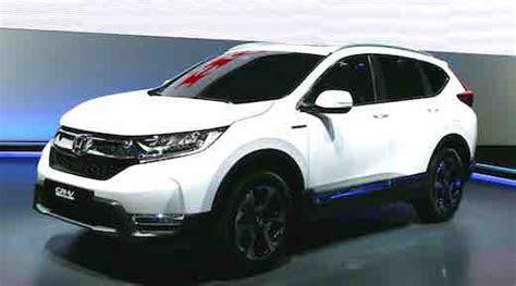 honda crv hybrid car  release