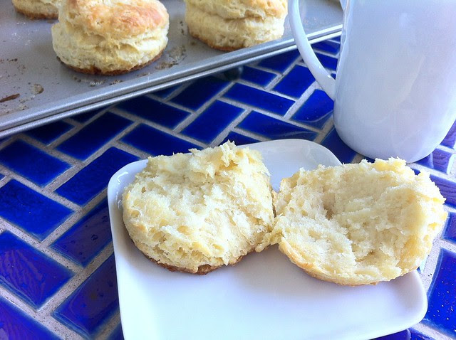 Inside of Buttermilk Biscuit