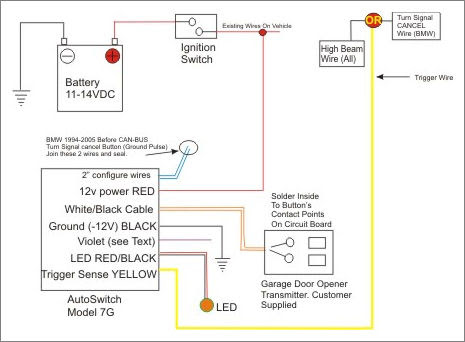 25 garage door opener wiring diagram  wiring database 2020