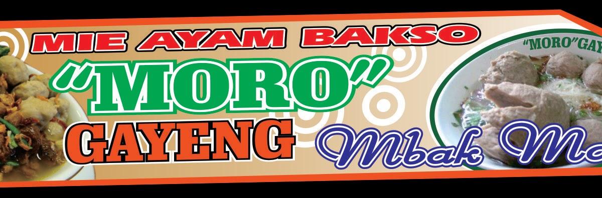 Desain Banner Warung Bakso - desain spanduk kreatif