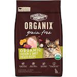 Castor & Pollux Organix Grain Free Chicken & Sweet Potato Recipe Cat Dry Food, 3 lb