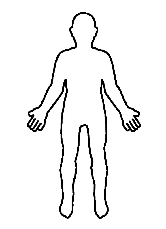 Free Blank Body, Download Free Clip Art, Free Clip Art on ...