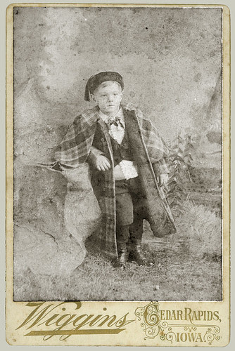 Cabinet Card small boy