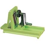 Benriner Green Fancy Turning Spiral Vegetable Slicer