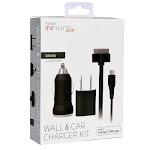 Vivitar Infinite MFI Apple iPhone & iPod Wall & Car Micro USB Charger Kit
