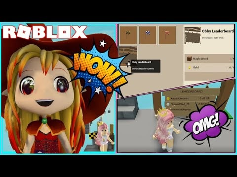 Making My Own Obby In Roblox Youtube Chloe Tuber Roblox Islands Making An Obby With Real Checkpoints And Leaderboard