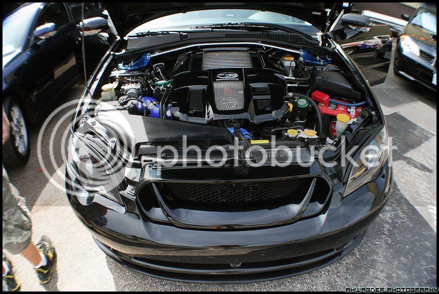 Subaru Legacy  Subaru Legacy Gt Engine Bay