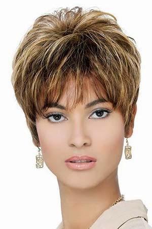 Coupe De Cheveux Pour Visage Carre Femme De 50 Ans