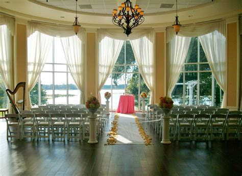 Wedding ceremony in the Rotunda at the Lake Mary Events