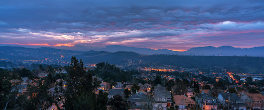 Purple Ripples Over Santa Clarita | In The Viewfinder