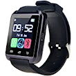 U80 Plus Bluetooth 4.0 Smart Wrist Wrap Watch Phone with Comfortable Watch Strap for Smartphones IOS Android Apple iphone 5/5C/5S/6/6 Puls Android Samsung S3/S4/S5 Note 2/Note 3 Note 4 HTC Sony (U80 Plus Black), [Importado de UK]: Amazon.es: Electrónica