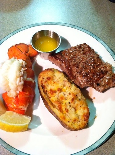 Good deal meals surf and turf for valentine 39 s day for Good valentines day meals