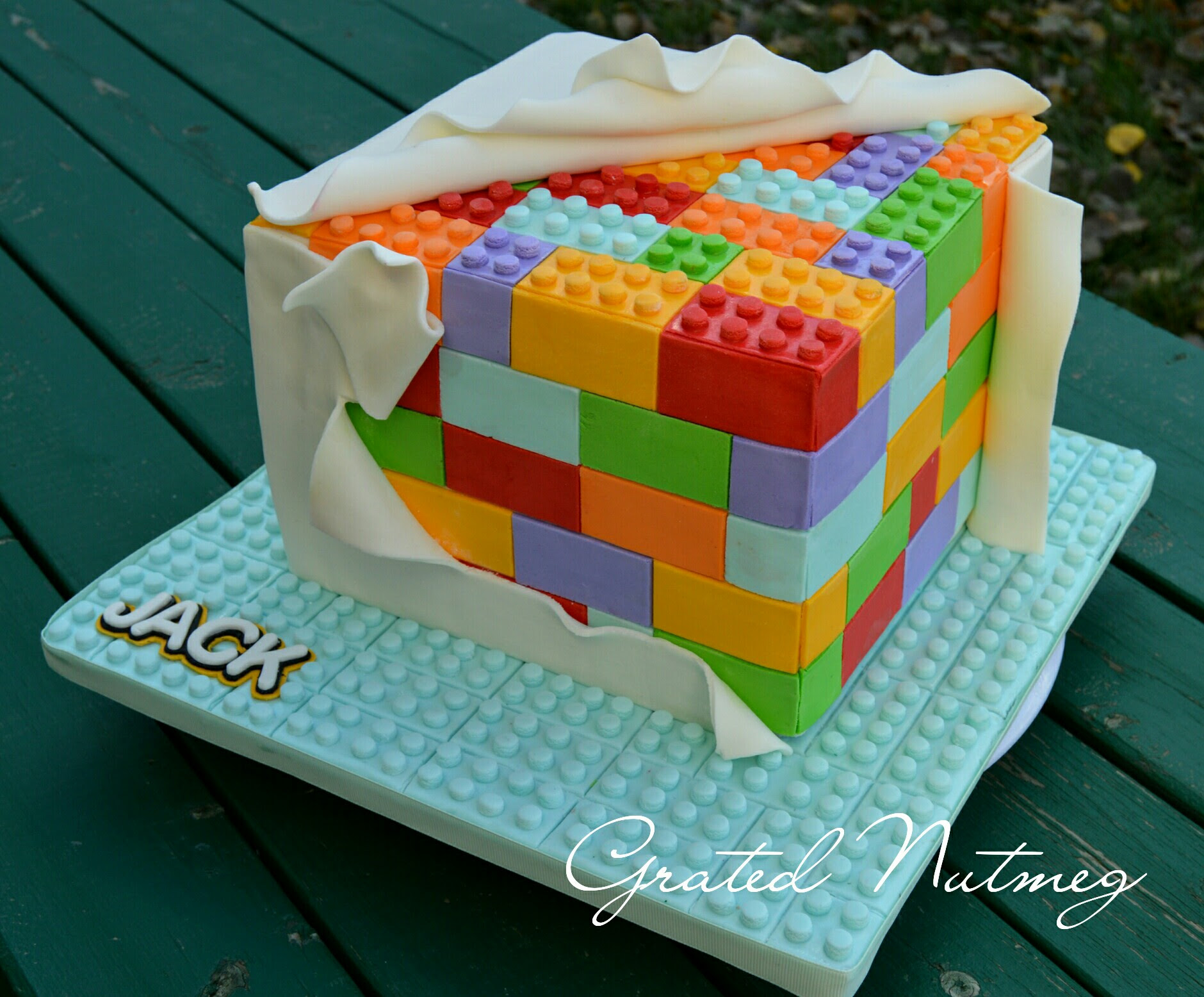 Homemade Lego Cake Lego Birthday Cake Lego Cake Cool