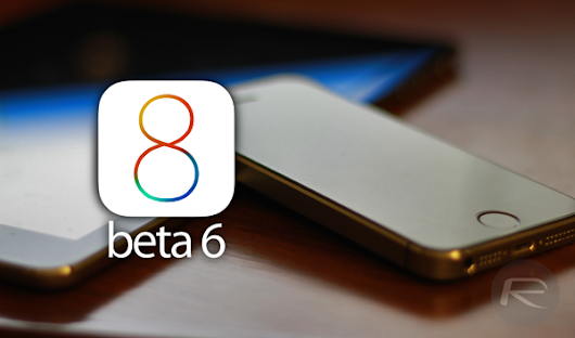 Apple Rolls Out iOS 8 Beta 6, Here's The Changelog | Redmond Pie