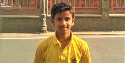 Pune kid selected to report on the Football for Friendship programme in Russia