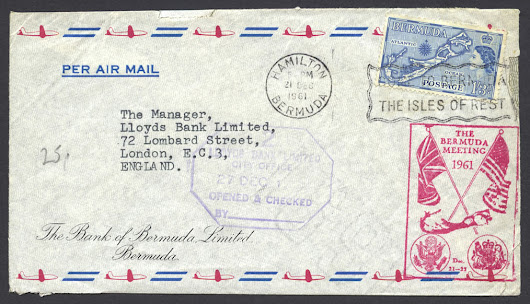 1961 The Bermuda Meeting - Bermuda Stamps