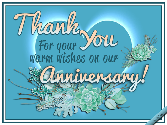 Warm Anniversary Wishes Free Wedding Anniversary Ecards 123