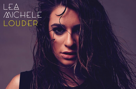 "Lea Michele unveils the cover for ""Louder"""