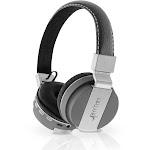 Aduro Pop Soul Leather Wireless Headphones Gray