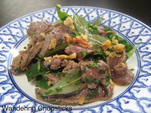 Bo Tai Chanh (Vietnamese Beef Carpaccio with Lemon) 1