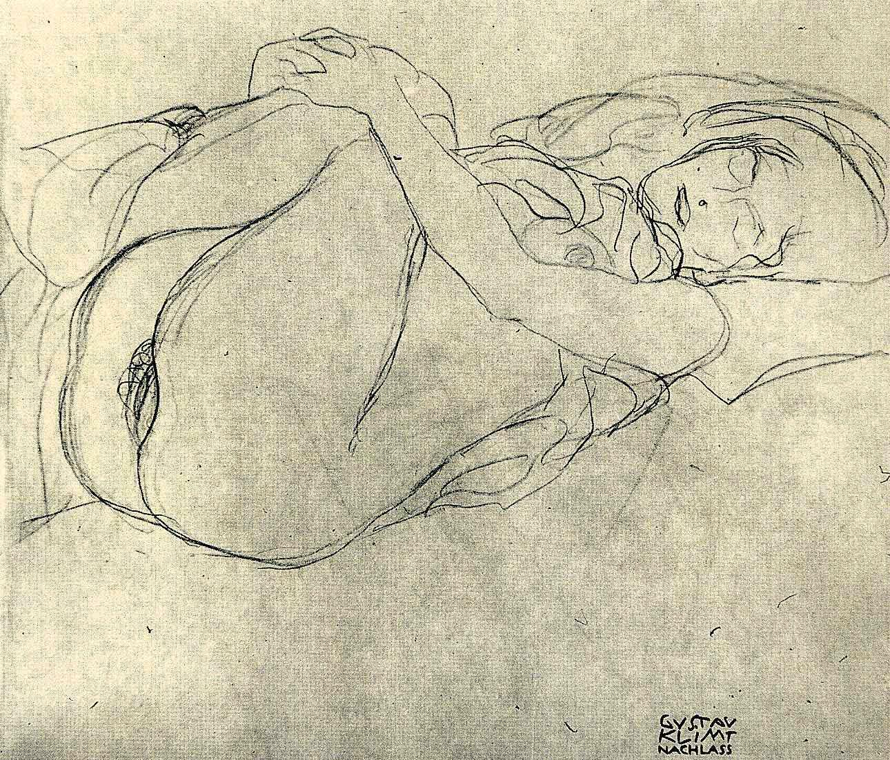 Gustav Klimt erotica sensual26