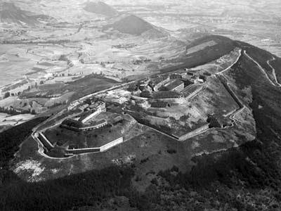 Fuerte de Ezkaba. FOTO: TODOS LOS NOMBRES