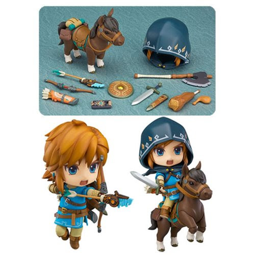 The Legend of Zelda: BotW Link Action Figure - DX Edition - Good Smile Company - Legend of Zelda - Action Figures at Entertainment Earth