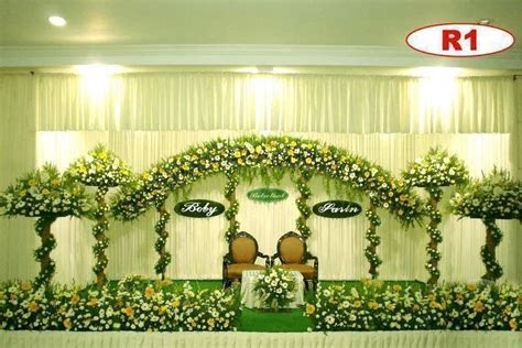 christian wedding stage in kerala   decorations