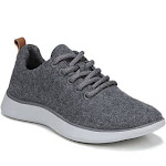 Dr. Scholl's Freestep Women's Shoes Mid Grey Wool Fabric : 7.5 M