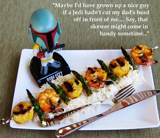 "Star Wars Menu: Our ""Shish-Ka-BOBA"" is the Perfect Dish for Summer! - Star Wars Reporter"
