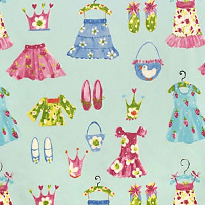 Beautiful kids Princess fabris @ Kidsfabrics