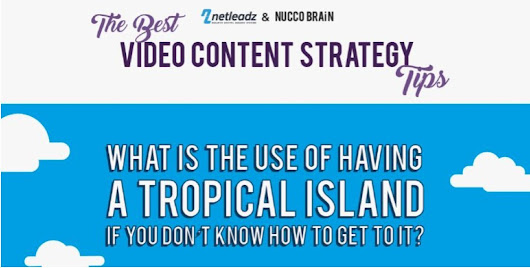 "Netleadz on Twitter: ""How to Execute a Killer #Video #Marketing Strategy #netreadz & #infographics #videomarketing  @NuccoBrain """