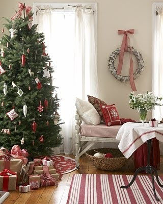 Cottage Cozy Christmas  Holiday Trees amp; Wreaths  Pinterest