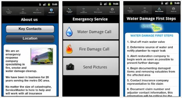 Mobile App for ServiceMaster