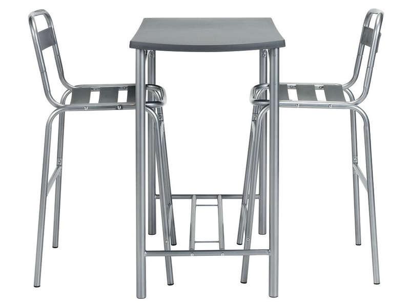 Ensemble table ronde 2 chaises espace prix pas cher - Ensemble table chaises pas cher ...