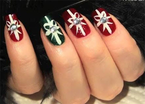 Christmas Acrylic Nail Design Ideas Attractive Nail Design