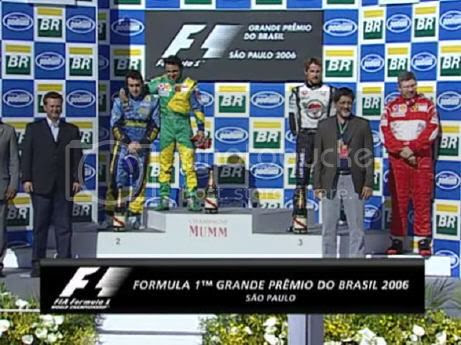 F1 GP Brasil 2006 World Feed